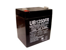 Sealed Lead Acid Battery - UB1250FR (Flame Retardant) - 5Ah 12v