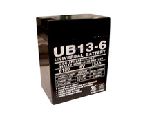Sealed Lead Acid Battery - UB6130 TOY - 13Ah 6v