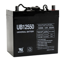 Sealed Lead Acid Battery - UB12550 - 12v 55Ah