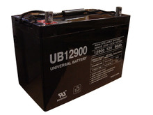 Sealed Lead Acid Battery - UB12900 (Group 27) - 12v 90Ah Terminal Z1