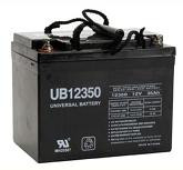 Sealed Lead Acid Battery - UB12350 (Group U1) - 12v 35Ah