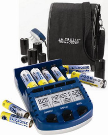 LaCrosse BC-9009 Alpha Battery Charger, Analyzer, and Recovery System