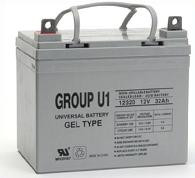 Sealed Lead Acid Battery - U1 GEL 12v 2.9Ah