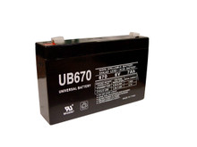 Sealed Lead Acid Battery - UB670 - 7Ah 6v