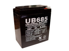 Sealed Lead Acid Battery - UB685 - 8.5Ah 6v