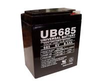 Sealed Lead Acid Battery - UB685 - 8.5Ah 6v
