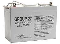 Sealed Lead Acid Battery - UB-27 GEL 12v