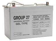 Sealed Lead Acid Battery - UB-27 GEL 12v