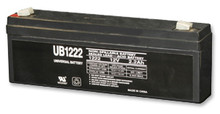 Sealed Lead Acid Battery - UB1222 - 12v 2.2Ah