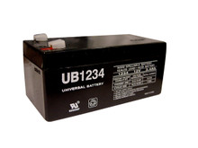 Sealed Lead Acid Battery - UB1234 - 12v 3.4Ah