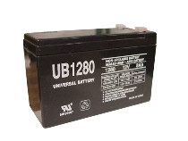 Sealed Lead Acid Battery - UB1280 - Terminal F1 - 12v 8Ah