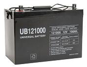 Sealed Lead Acid Battery - UB121000 (Group 27) - 12v 100Ah