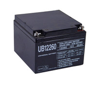 Sealed Lead Acid Battery - UB12260 - 26Ah 12v