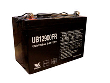 Sealed Lead Acid Battery - UB12900FR (Flame Retardant) - 90Ah 12v