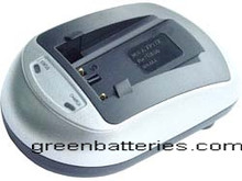 Battery Charger for Panasonic DE-A65 DE-A66 Li-ion Type Batteries