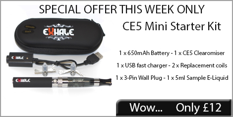 CE5 mini starter kit, £12 only this week