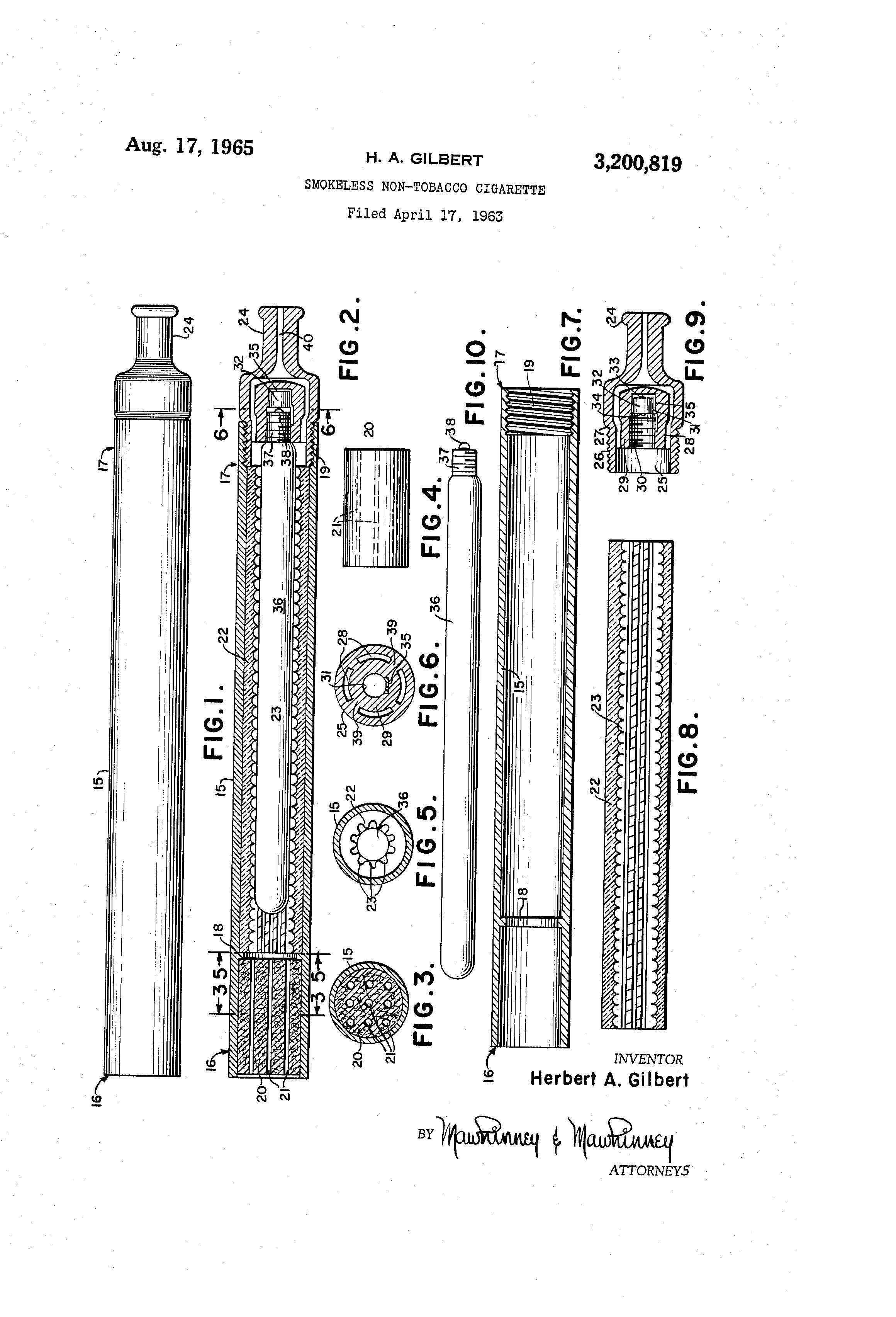 Herbert A. Gilbert: Patent