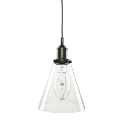 Liska Medium Feature Glass Tri-Pendant - Clear