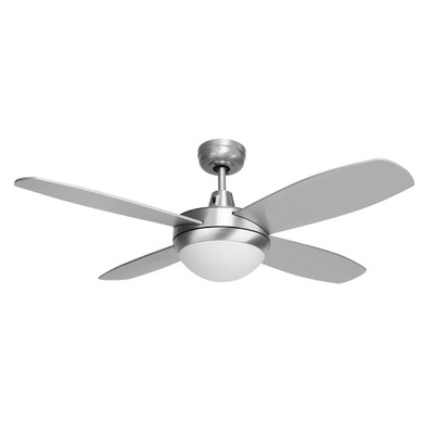 Brisk 42 ceiling fan led light silver finish warm white led brisk 42 plywood blades ceiling fan led light silver finish warm white mozeypictures Image collections
