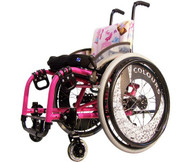 Colours Wheelchair Kids LITTLE DIPPER Front View