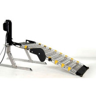 "Roll-A-Ramp - Power Auto-Fold - Bi-Fold Ramp - Pendant Cord 30"" wide x 7 ft long #AF1Demo unfolded"