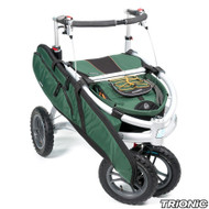 "Trionic Veloped - Hunt 2017 - Walker Rollator- 12"" tires- Green # 11-00-115"