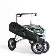 "Veloped Hunt - Trionic Hunt - Walker Rollator- 12"" tires- Green # 11-00-115"