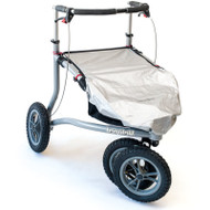 Trionic, Veloped Seat and Basket Rain Cover, Silver-black