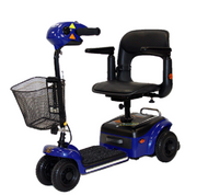 Shoprider, Scootie, 4 Wheel Mobility Scooter, TE-787NA BLUE