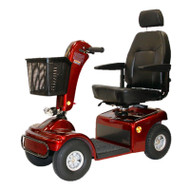Shoprider, Sprinter XL4, Burgundy, 4 Wheel Mobility Scooter, 889B-4