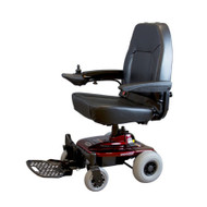 Shoprider, Jimmie Power Chair, Burgundy Red, UL8WPBS