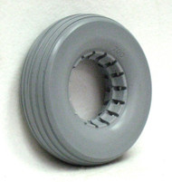 8X2 1/4 Urethane Rib Tire Fits Most 2-Piece Wheels