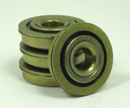 "7/16 x 1 1/4"" Flanged 4 Pack Wheelchair Bearings"