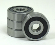 "7/16 x 1 3/8"" Precision 4 Pack Wheelchair Bearings"