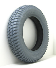 3.00-8 Foam Filled Knobby Primo Tire 1.75 Hub Fits 5 Lug Nut Wheels