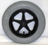12 1/2X2 1/4 Rear Mag Wheels with Urethane Tires