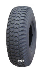 "Pair, 10 x 3"", Knobby (Power Trax) Tread"