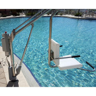 Spectrum Aquatics - Motion Trek 350 Pool Lift WITHOUT Anchor - 350 lbs -  ADA compliant # 163370