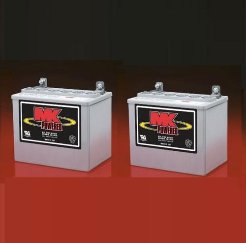 MU-1 SLD G - Pair,  MK Sealed Heavy Duty Gel Battery (MK Original)