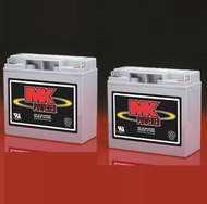 M17-12 SLD M - Pair , MK Sealed Light Duty AGM Battery (MK Original)