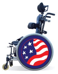 Wheelchair Spoke Guard Covers-July 4th