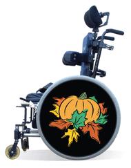 Wheelchair Spoke Guard Covers-Harvest