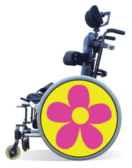 Spoke Guards Covers-Mega Flower