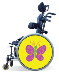 Spokes Guard Cover- Pink Butterfly