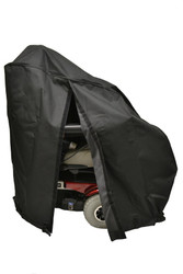 "Diestco Powerchair Cover V5311 - Reg HD w/Full Back Slit 38""H x 18""W x 44""L"