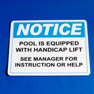 LifeGuard - Public Notice Sign # 29112