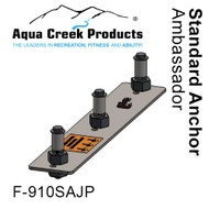 "Aqua Creek - Anchor Kit, Standard, 3-point w/jig & 4"" inserts, Pro XR, Ambassador # F-910SAJP"