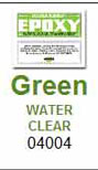 Hardman Double Bubble Green-Label Crystal-Clear Epoxy Packets (#04004)
