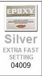 Hardman Double Bubble Silver-Label Low Viscosity Thin Extra-Fast Setting Epoxy Packets (#04009)