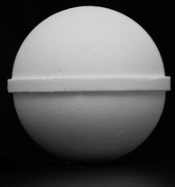 2.1 Inch (53mm) Sphere Bath Bomb Mold / Half Sphere Mold